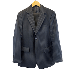 Ben Sherman Black And White Two-Piece Suit
