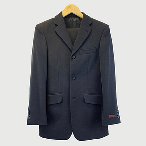 Rice Navy Blue Two Piece Suit Size Small