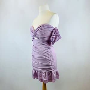 House Of Maguie Lilac Dress Size Large