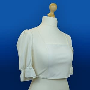 Boohoo Square Neck Open Tie Back Top Size 12