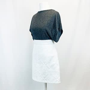 Top Shop White Skirt Size 10