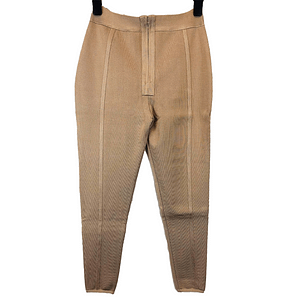 House Of Maguie Nude Trousers Size S