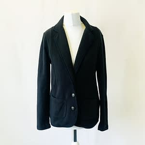 Lands End Navy Blue Blazer Size Extra Small