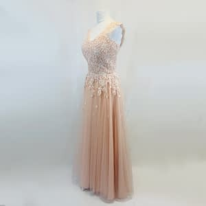 Stacees Pink Prom Dress Size 10